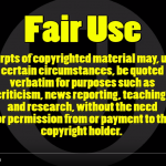 What's Fair Use? | Doug Walker Nostalgia Critic Video #WTFU